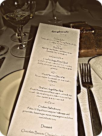 Longboards Bar & Grill: our menu...every item was amazing