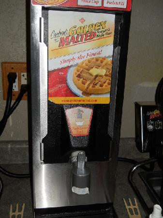 Americas Best Value Inn: waffle mix