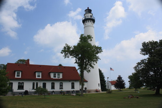 ‪‪Racine‬, ‪Wisconsin‬: Wind Point Lighthouse‬