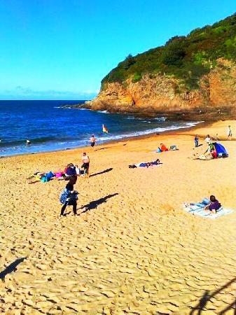 Beuvelande Camp Site: greve de lecq beach