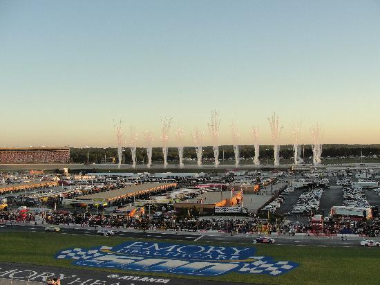 Pit Area Picture Of Atlanta Motor Speedway Hampton Tripadvisor