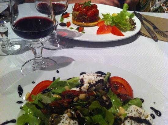 Restaurant Gites Les Trois Graces : starters