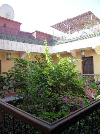 Riad Jaglia: Patio vu du 1er étage