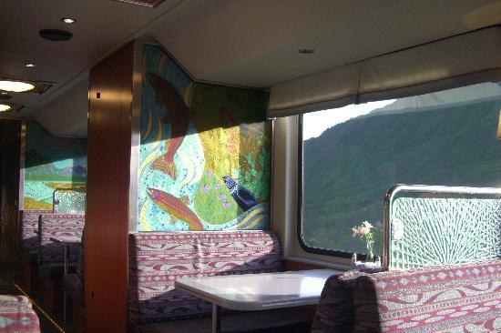 Inside The Bubble Train Picture Of Alaska Railroad Anchorage Tripadvisor
