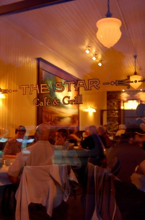 The Star Cafe & Grill: The Star is housed in a heritage building in downtown Maple Creek.