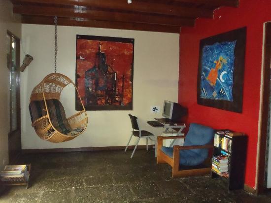 Hotel Mi Tierra: Internet room
