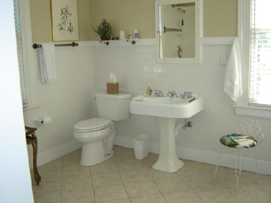 Grandview Bed and Breakfast: Bathroom in Audubon Room