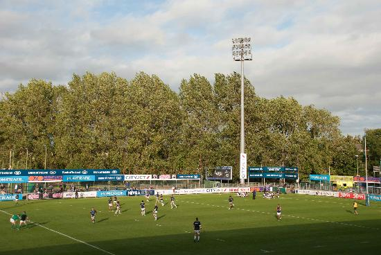 A general view of the Donnybrook stadium 9/12/2017