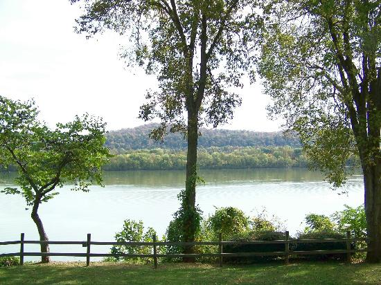 Moyer's Winery & Restaurant: View of the Ohio Riverfrom a different angle