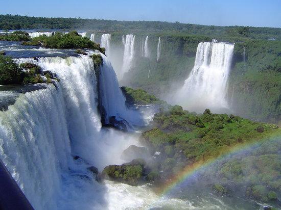 Cataratas del Iguazú: As cataratas dede Brasil