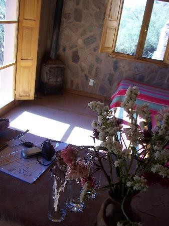 Cerro Chico: The little fireplace stove kept us cosey at night
