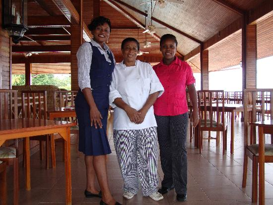 Le Grand Courlan Spa Resort: resturant staff