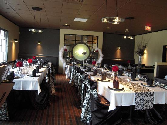 Phoenicia: Exquisite Affairs had decorated for a wedding reception the saturday i went