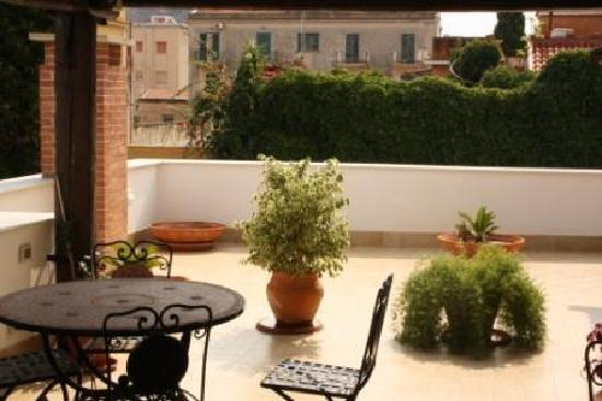 Il Golfo: roof terrace