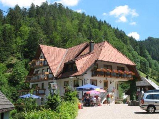 Sankt Margen, Almanya: Felsenstüble mit Restaurant und Hotelzimmer