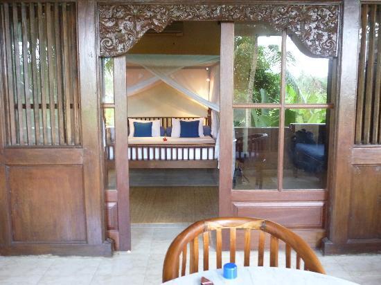 Alam Jiwa: Bedroom from terrace
