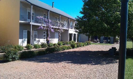 Lindenwarrah: One of the accommodation wings