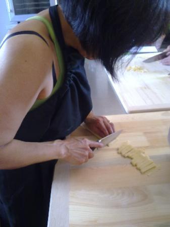 """Decugnano Dei Barbi Cooking Class: The """"tagliatelle"""""""