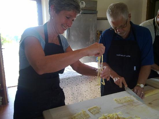 Decugnano Dei Barbi Cooking Class: Our fresh pasta