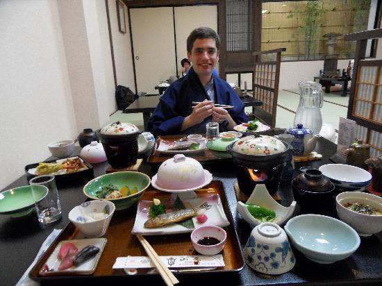 Oyado Yamakyu: Dinner!