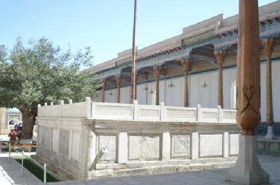 Bakhautdin Naqsband Mausoleum: a view of mausoleum