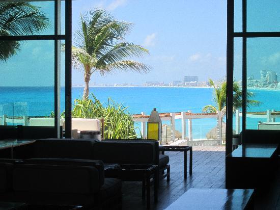 โรงแรมไฮแอทรีเจนซี่แคนคัน: Loung view!