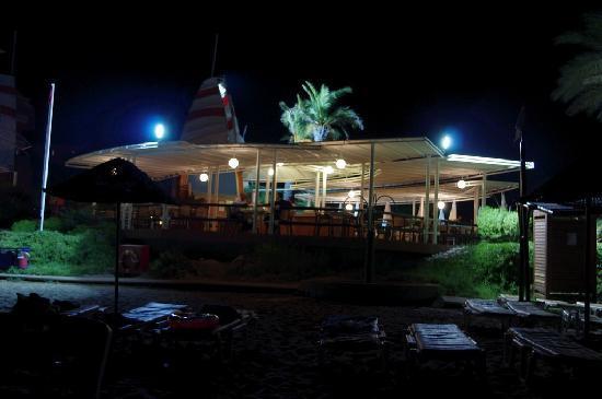 Pegasos Club: Снэк-бар, вид с моря