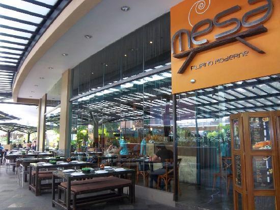 Mesa in Greenbelt 5 - Picture of Mesa, Filipino Moderne