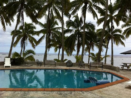 Sunhaven Beach Bungalows: View from my room #6.