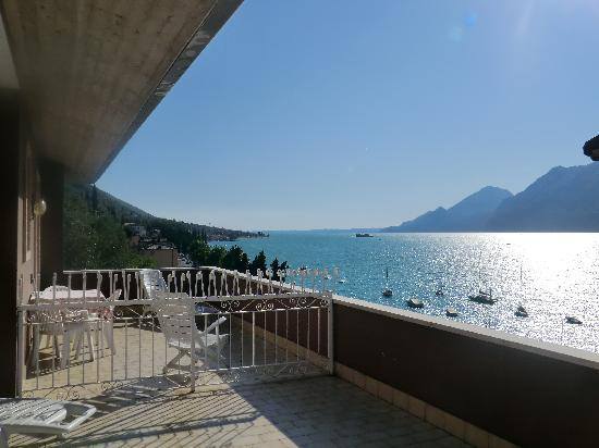 albergo casa Sartori: Terrasse