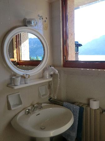 albergo casa Sartori: bagno