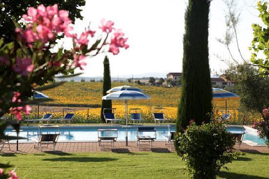 Angolo piscina picture of villa rosa dei venti cortona for Piscina rosa dei venti