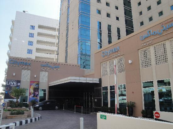 Citymax Hotels Al Barsha at the Mall: Main Entrance