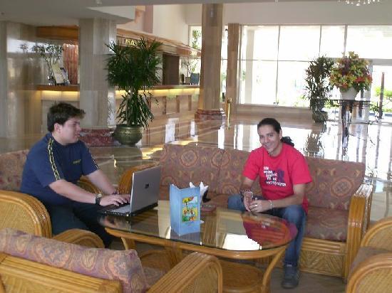 Baron Resort Sharm El Sheikh: BARON RESORT - VISTA AL LOBBY