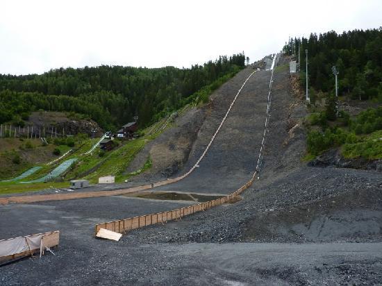 Vikersund Ski Jumping Center: Flugschanze