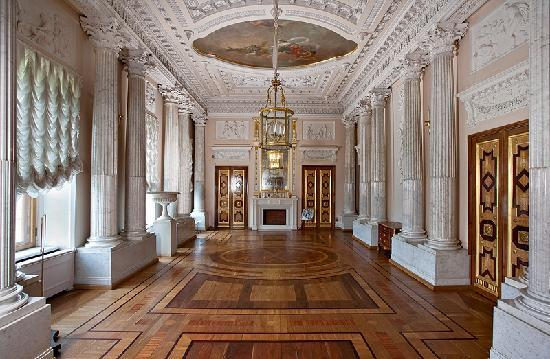 marble dining room Мраморная столовая - picture of gatchina palace