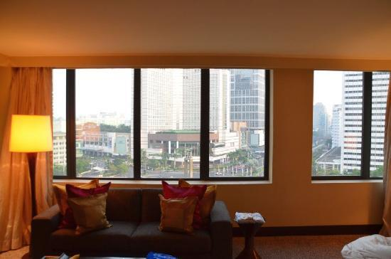 Mandarin Oriental Jakarta: Our room