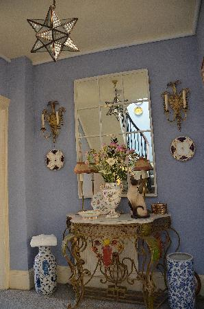 Gothic House: First floor landing