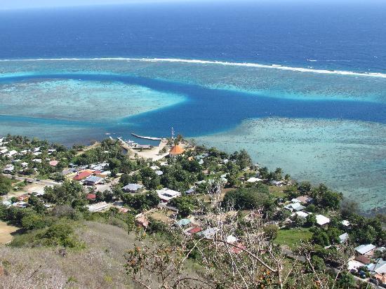 Mount Otemanu : impresionante vista