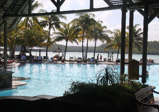 Shandrani Beachcomber Resort & Spa All Inclusive: View from reception