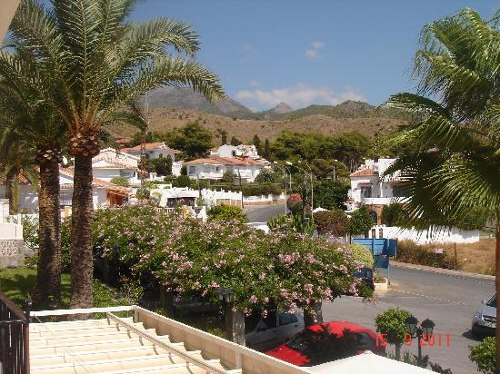 Hotel Al-Andalus Nerja: View to left from balcony of 116