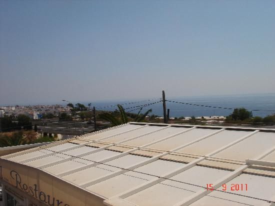 Hotel Al-Andalus Nerja: View to right from balcony of 116