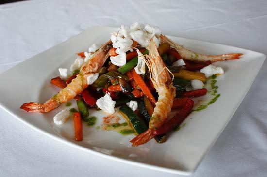 Restaurante Olazal: Verduritas al wok