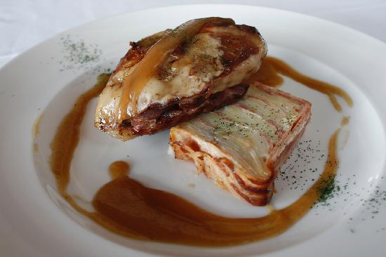 Restaurante Olazal: Cordero asado a baja temperatura