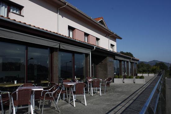 Restaurante Olazal : Terraza