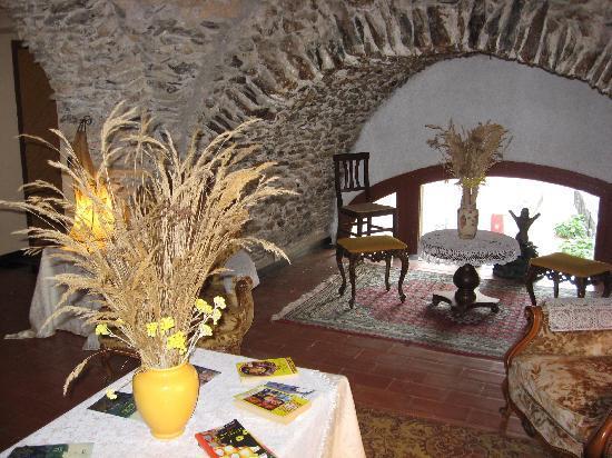 Hotel Ristorante Colomba d'Oro : sotto la volta...