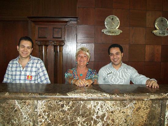Aqua Hotel Resort & Spa: on reception