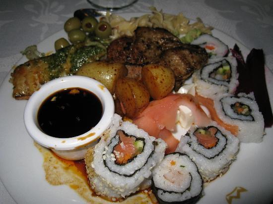 Hotel Riu Lupita: Asian night at Buffet