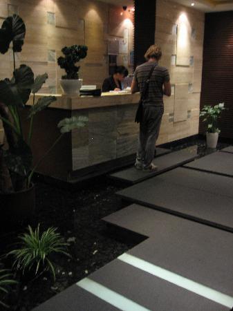 Kagen Teppanyaki @ Taojianglu : entrance