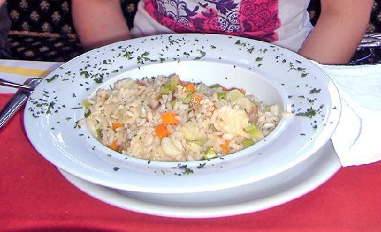 Ottimo: Risoto with vegetable